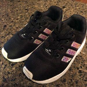Girls adidas sneakers 9c